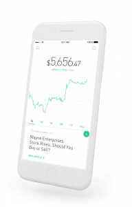 Robinhood User Interface